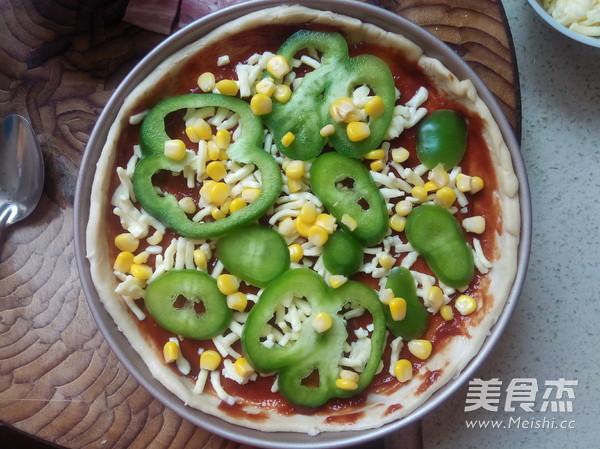 鲜虾培根披萨的简单做法