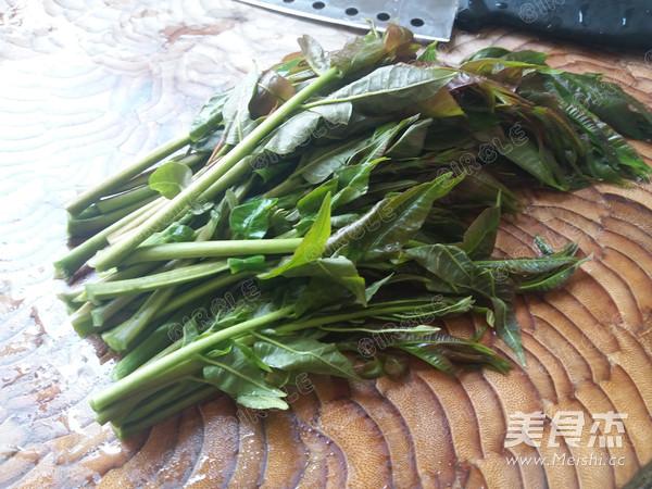 香椿拌黄豆的家常做法