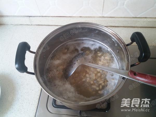 香椿拌黄豆的做法图解