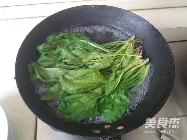 果仁菠菜的做法图解