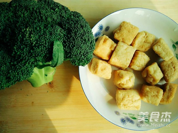 油豆腐烧西兰花的做法大全