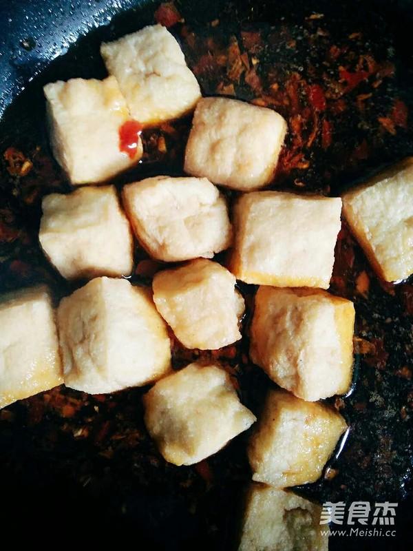 油豆腐烧西兰花怎么做
