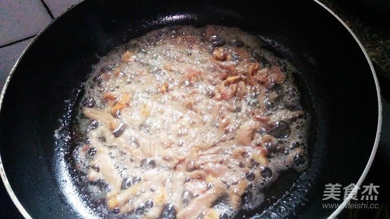 肉丝炒菜薹怎么做