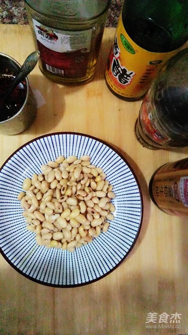 凉拌黄豆的简单做法