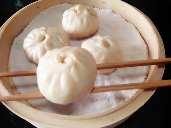 杏鲍菇葱香包子的制作方法