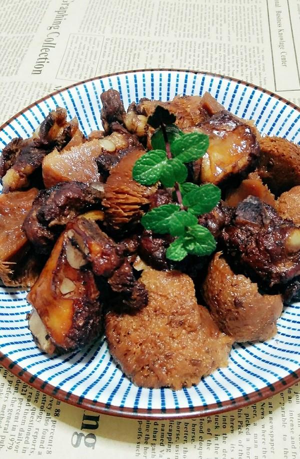 排骨红烧猴头菇怎样做