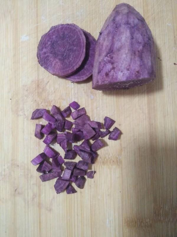 紫薯胚芽米粥怎么吃