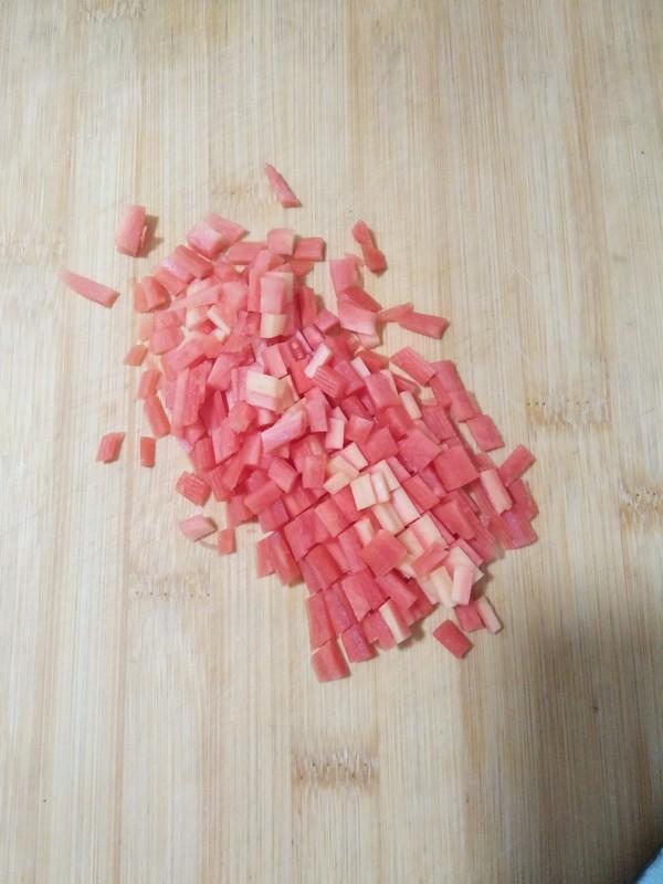 菠萝糯米饭的家常做法