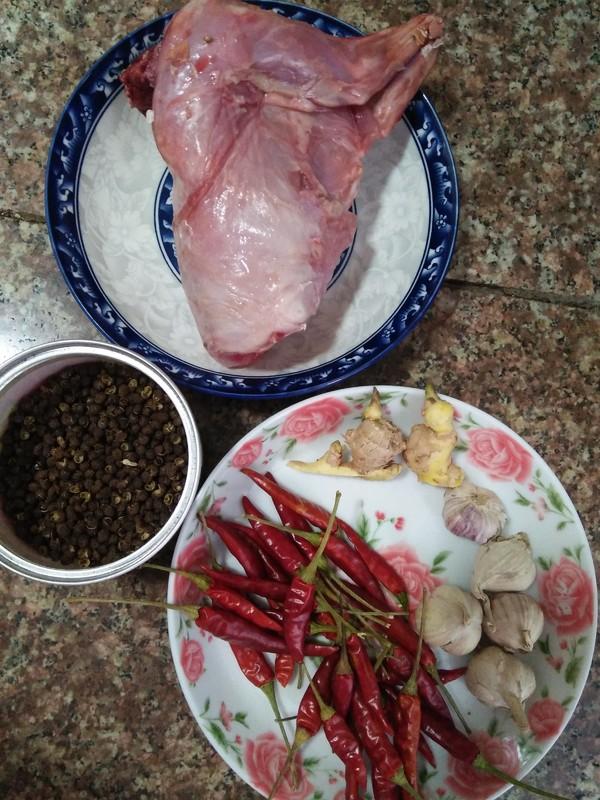 冷吃兔肉的做法大全