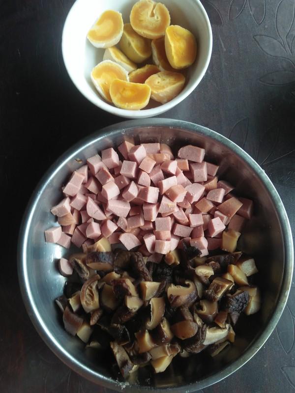 咸蛋黄粽子的做法图解