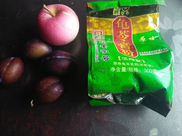 龟苓膏水果蜂蜜的做法大全