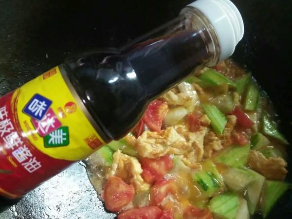 丝瓜番茄炒蛋怎么做