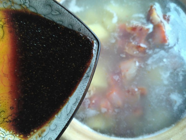 香肠土豆焖饭怎么吃
