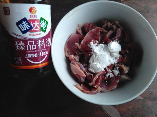 韭菜花炒鸭菌肝的家常做法