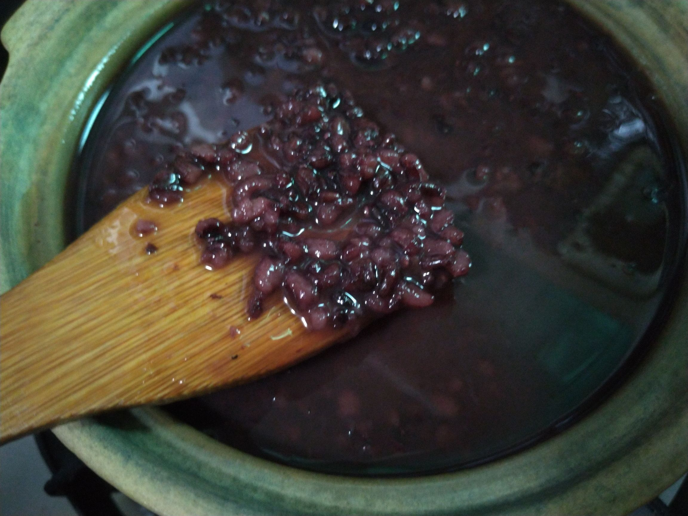 桂花黑米粥怎么炒