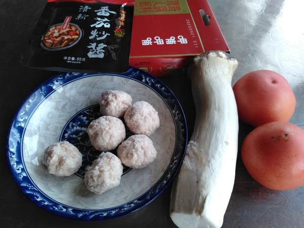 番茄杏菇肉丸汤的做法大全