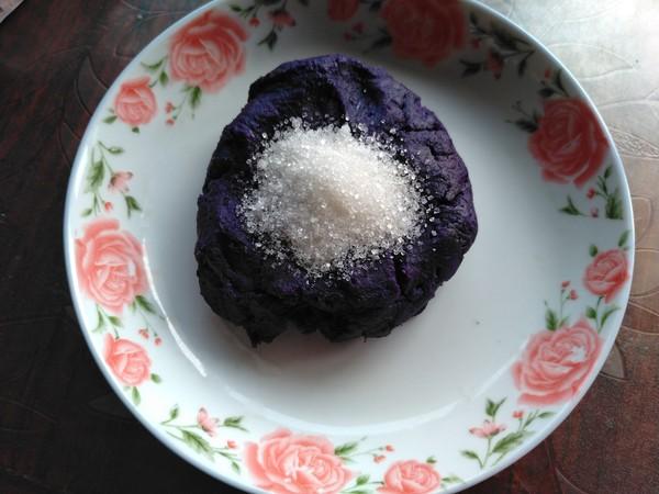 小米紫薯球的家常做法