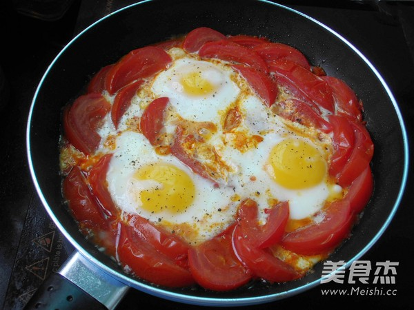 番茄荷包蛋怎么煸