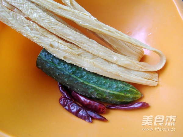 黄瓜拌腐竹的做法大全