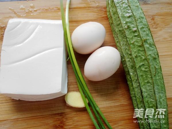 丝瓜豆腐鸡蛋汤的做法大全