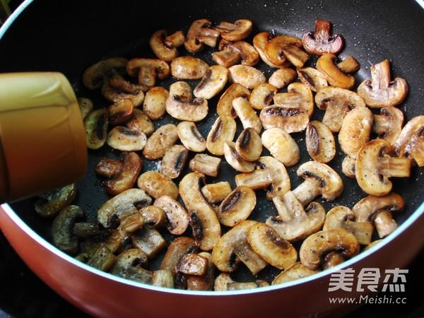 油煎蘑菇怎么吃