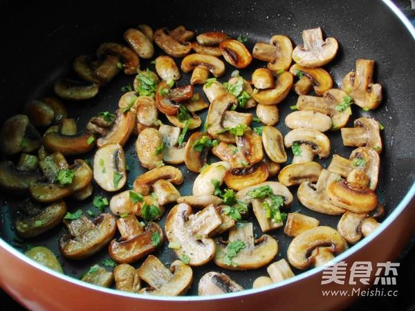 油煎蘑菇怎么做