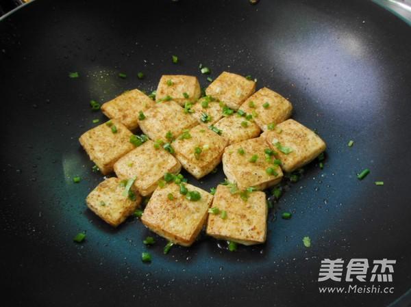 椒盐豆腐怎么吃