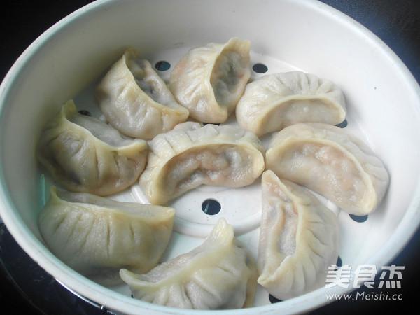 猪肉白菜饺子的制作