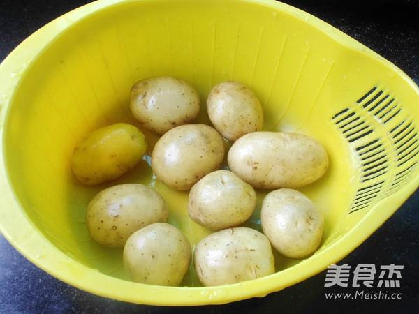 双烤小土豆的做法大全