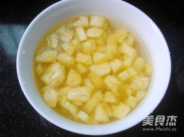 菠萝蛋挞的简单做法
