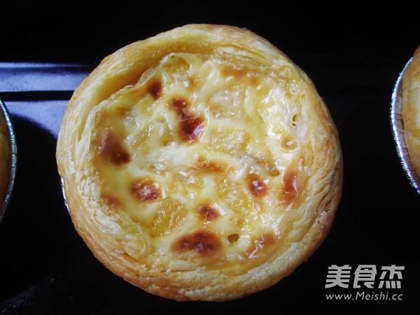 菠萝蛋挞怎样做