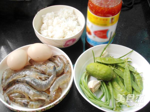 泰汁鲜虾蛋炒饭的做法大全