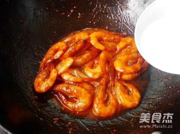 茄汁焖大虾怎么煮