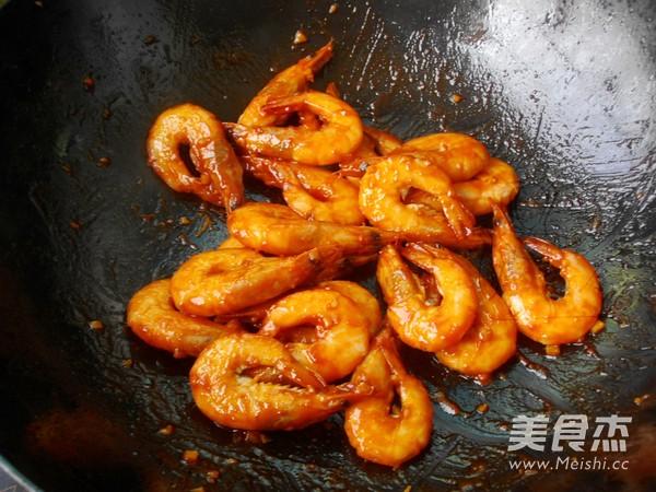 茄汁焖大虾怎么炒