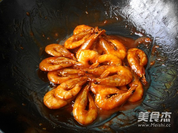 茄汁焖大虾怎么炖