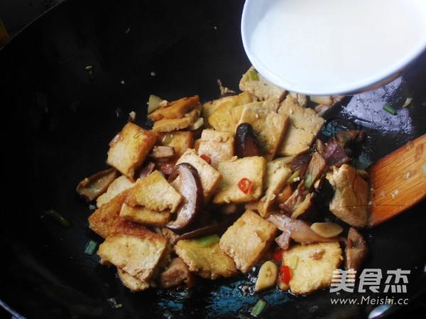 农家煎豆腐怎么煸