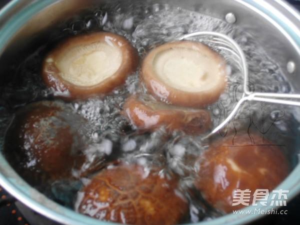 香菇酿肉丸的简单做法