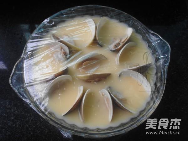 蛤蜊蒸蛋怎么炒