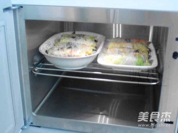 蒸白菜卷的步骤