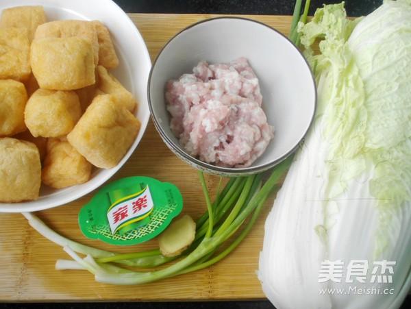 油豆腐炖白菜的做法大全
