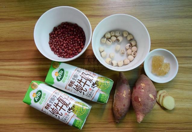 牛奶红豆番薯糖水的做法大全
