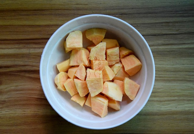 牛奶红豆番薯糖水的简单做法