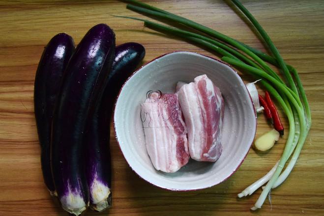 五花肉炒茄子的做法大全