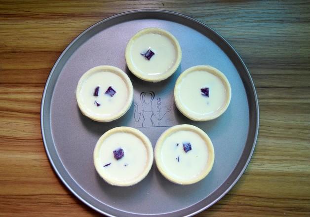 紫薯蛋挞怎么炒