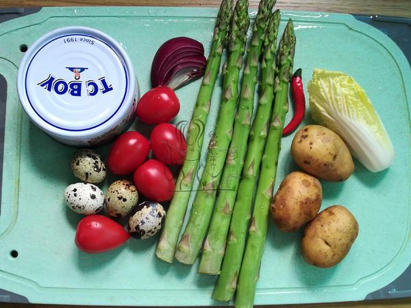 金枪鱼蔬果沙拉的做法大全