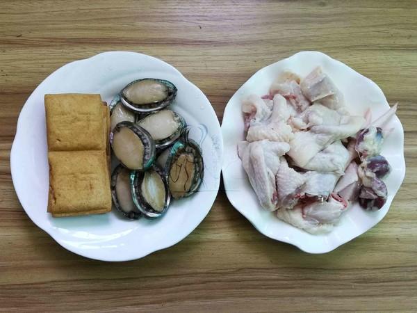 小鲍鱼烧鸡块的做法大全