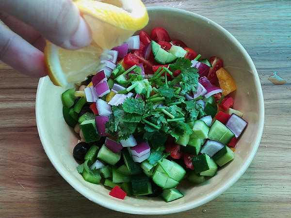 鹰嘴豆沙拉怎么吃