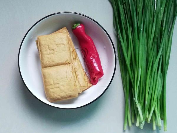 韭菜炒香干的做法大全
