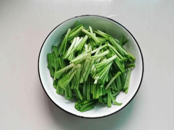 韭菜炒香干的家常做法