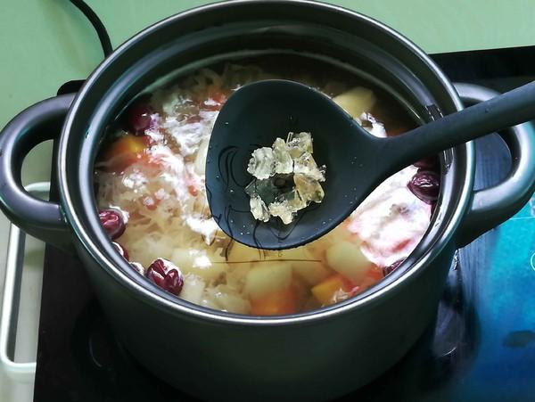 红枣雪梨木瓜汤怎么煮